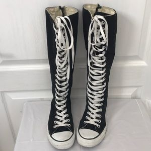 Converse lace up sneaker boots